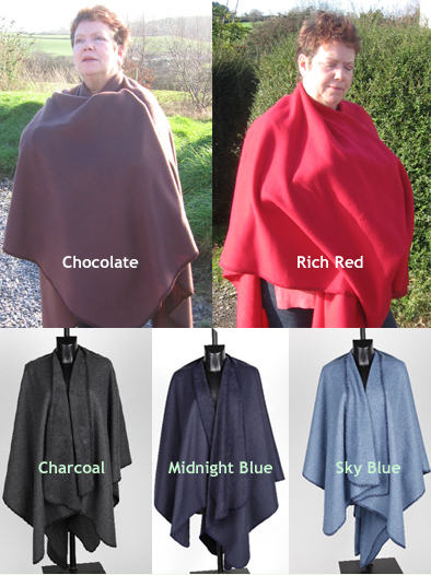 Fleece Ruana or Wrap