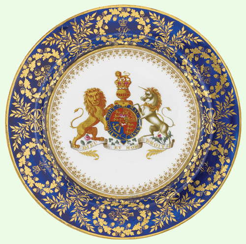 The Royal Collection © The King George III Plate