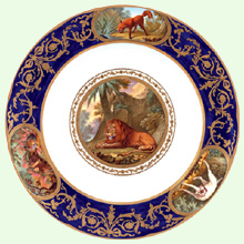 The Royal Collection - The Animal Plate