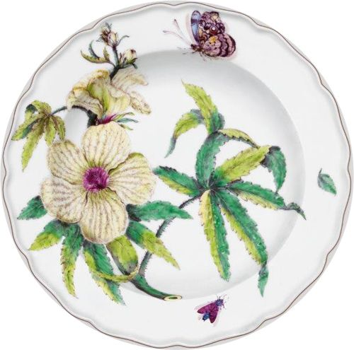The Fitzwilliam Museum © The Botanical Dessert Plate